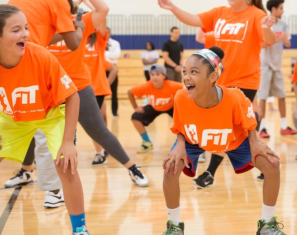 WNBA All Star Fit Clinic July 24, 2015