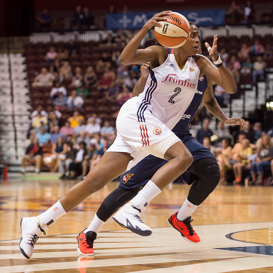 Indiana Fever vs. Connecticut Sun July 28, 2015